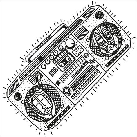 Africaine 808 - Bazar